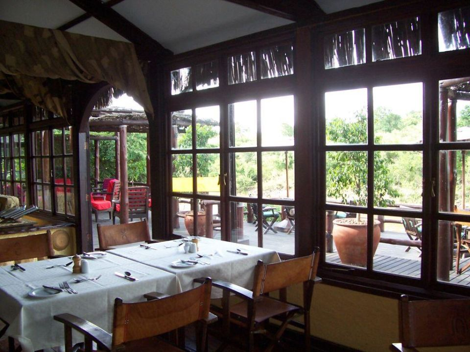 Lodge Restaurant Hotel Olonana Safari Camp