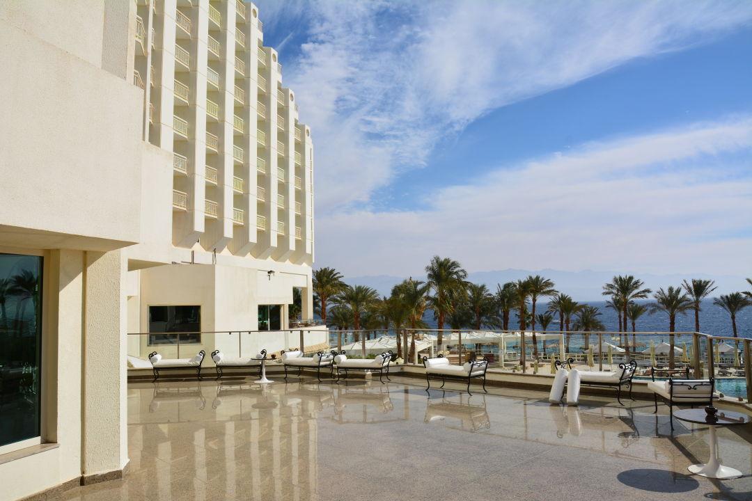 Aus der Lobby Terrasse Taba Hotel & Nelson Village