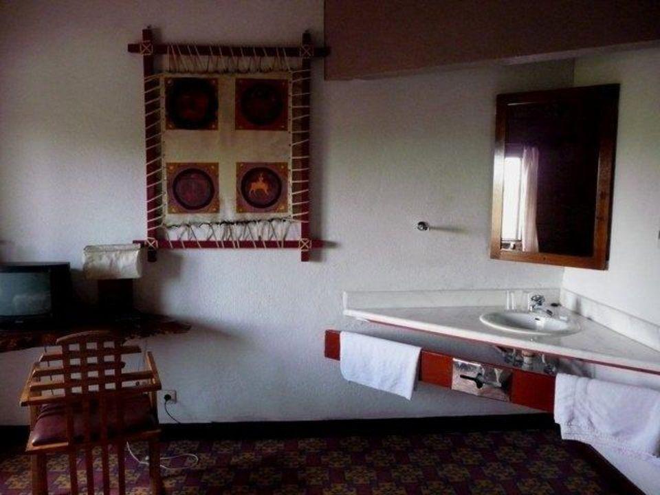 Waschbereich Hotel Roha