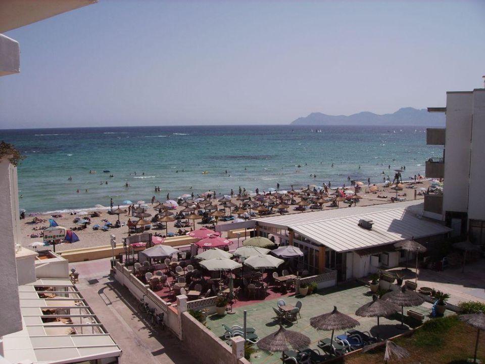 Blick vom Balkon Grupotel Picafort Beach