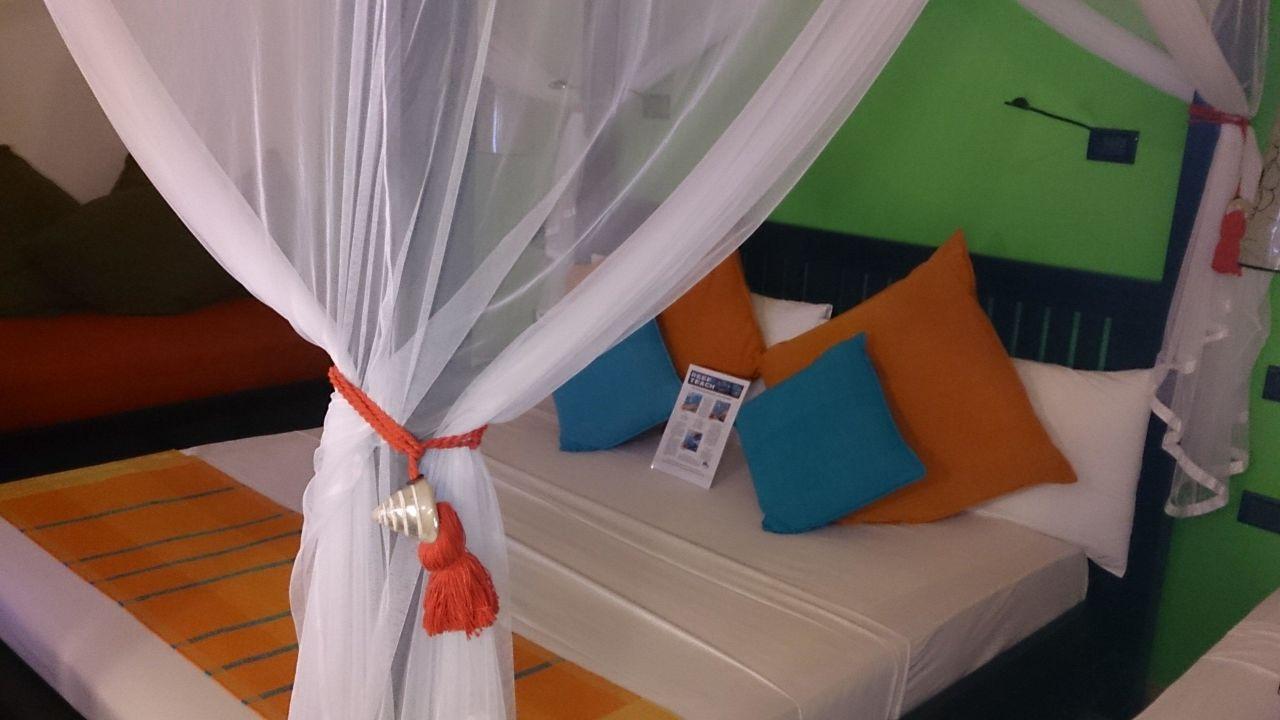 bild unser gartenbungalow zu vilamendhoo island resort. Black Bedroom Furniture Sets. Home Design Ideas
