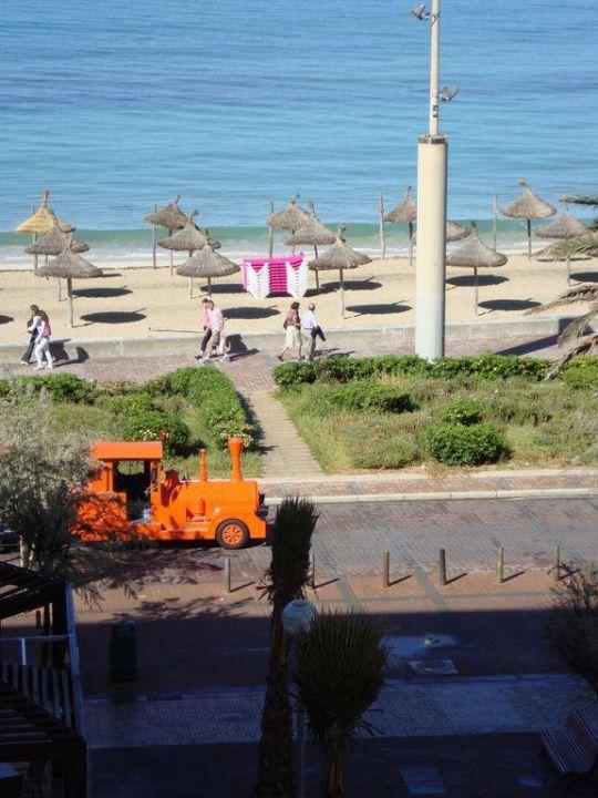Quot Seitlicher Meerblick Quot Aya Seahotel Platja De Palma