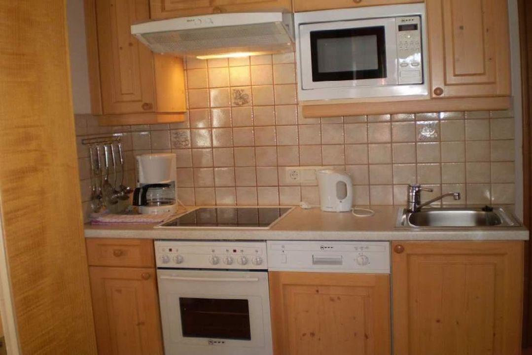 Küche Ferienwohnung Steinbachgut Flachau\