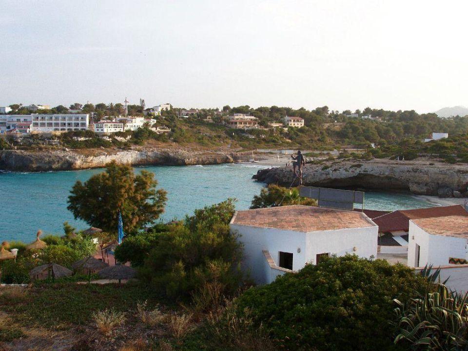 Blick in die Bucht Club Hotel Tropicana Mallorca