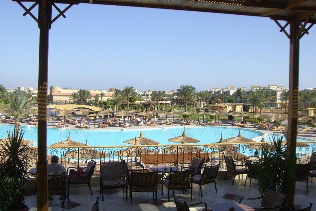 Ausblick Terrasse Lobby-Bar Dana Beach Resort