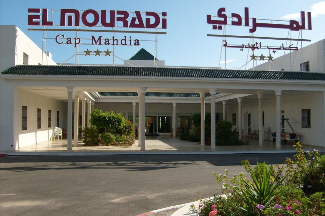 Eingangsbereich Hotel El Mouradi Cap Mahdia