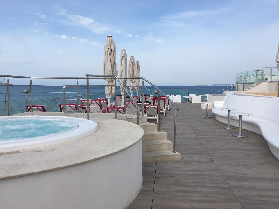 Quot Dachterrasse Mit Jacuzzi Quot Hotel Hispania Platja De Palma