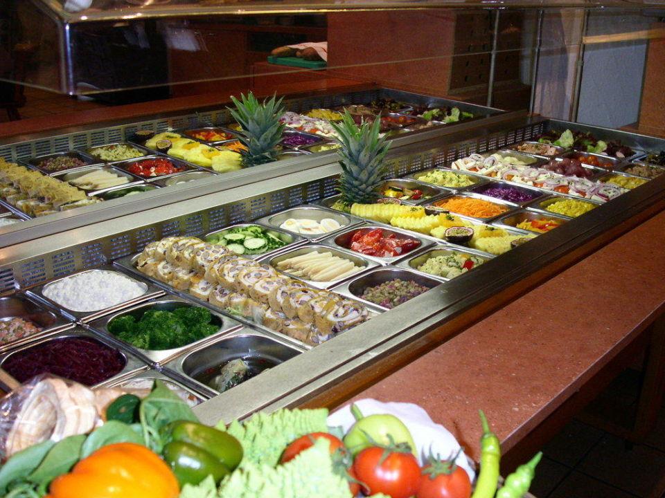 salatbuffet t glich 25 salate zur auswahl hotel taucher werdenberg holidaycheck kanton. Black Bedroom Furniture Sets. Home Design Ideas