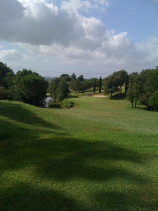 Blick auf dem Golfplatz Hotel La Pievaccia Golf Resort & Wellness
