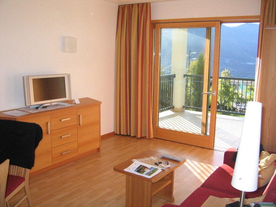 Wohnzimmer Hotel Residence Haselgrund