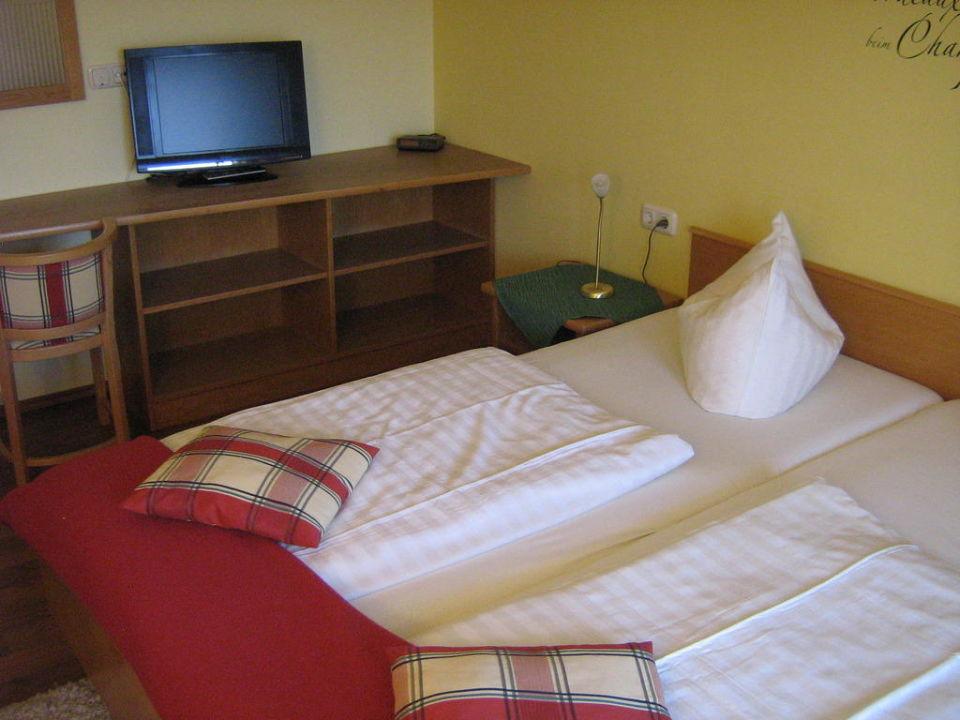 Betten mit Fernseher Hotel Christopherhof