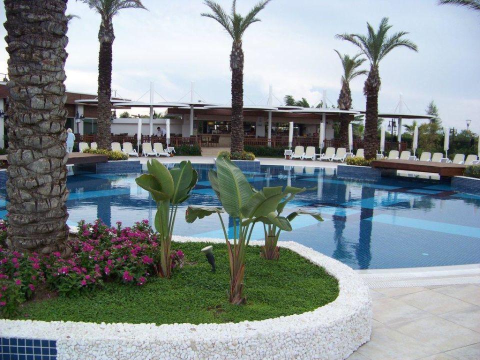 Pool und Poolbar Sunis Hotel Evren Beach Resort & Spa
