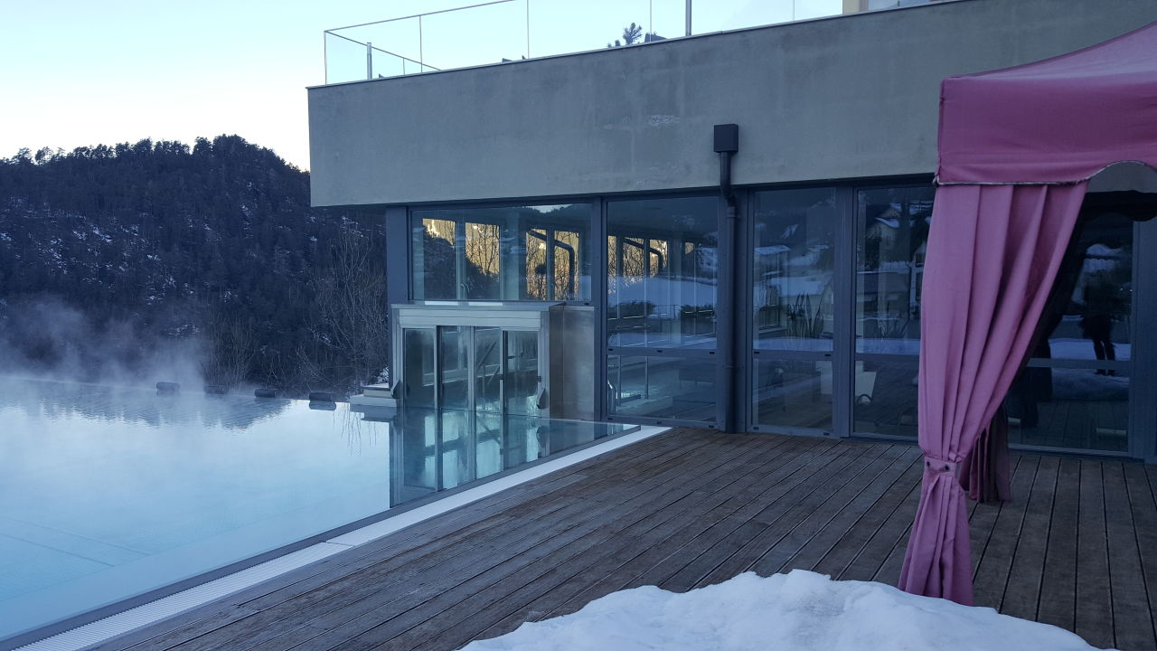 Pool Hotel Alpenflora