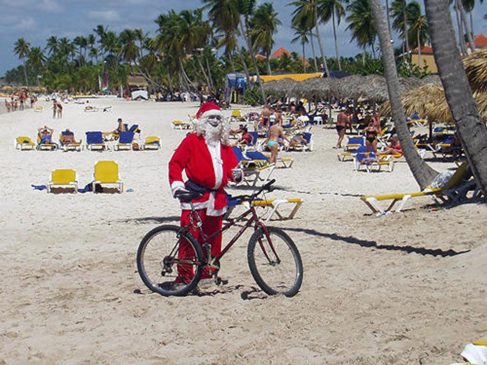 Weihnachtsmann IBEROSTAR Hotel Hacienda Dominicus