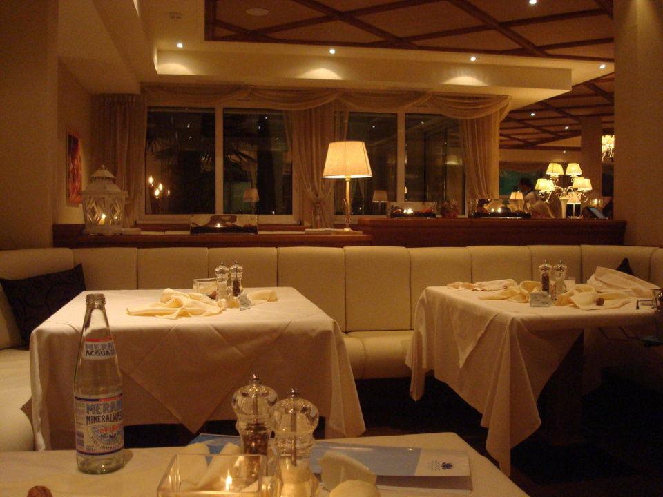 Beim Abendessen Luxury DolceVita Resort Preidlhof