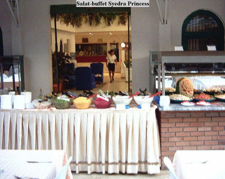 Das Salat-buffet Syedra Princess Hotel Syedra Princess