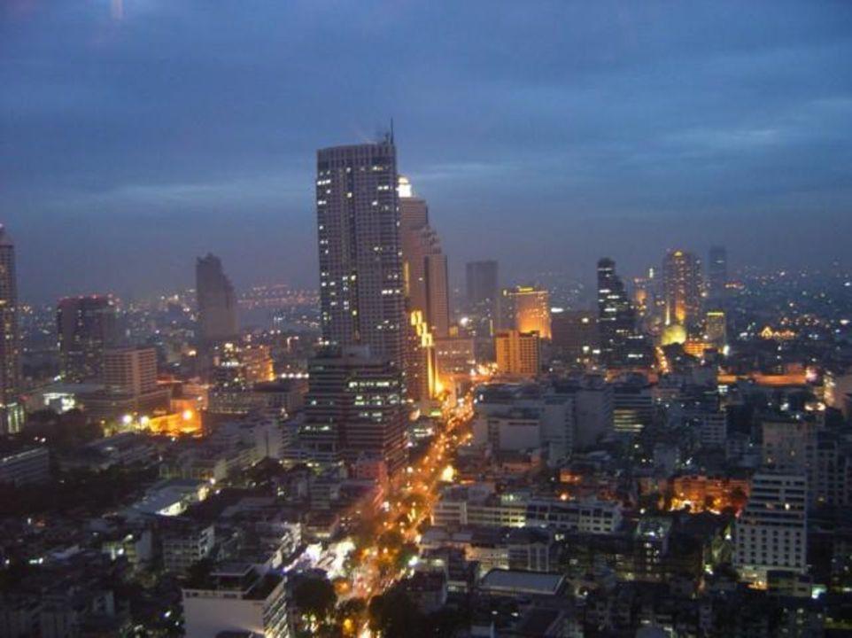 Bangkok - Blick vom Sofitel Hotel Hotel Pullman Bangkok Hotel G