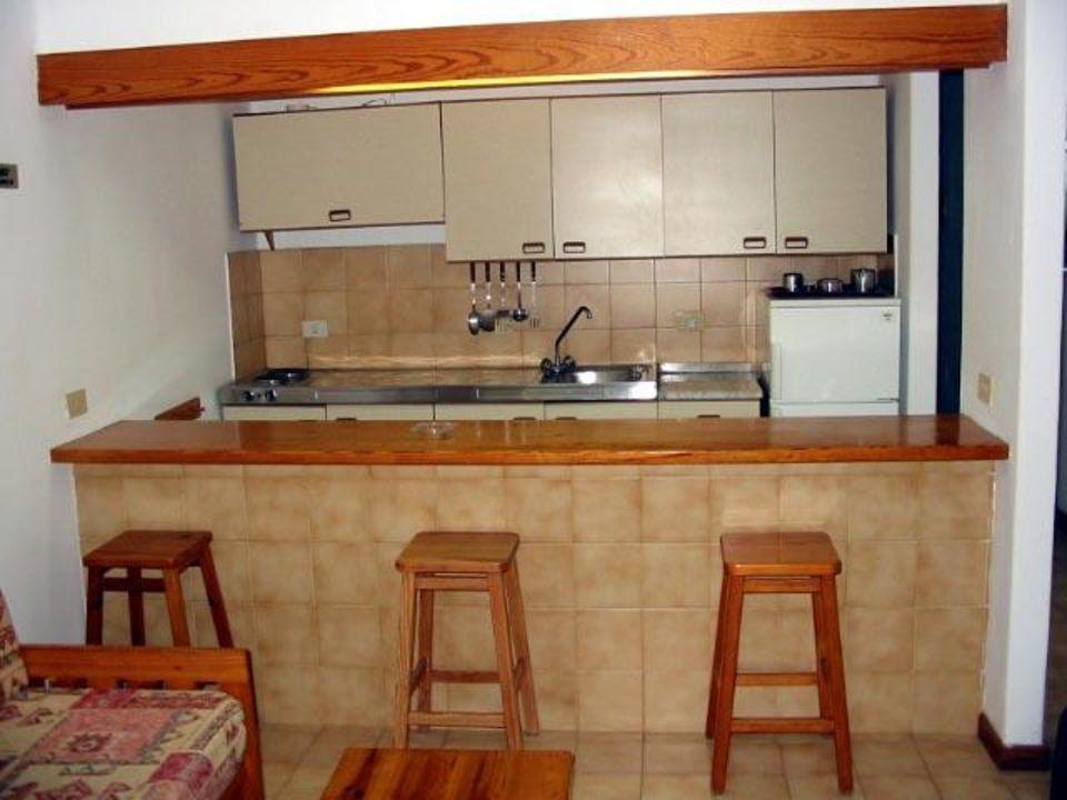 Küchenzeile eines Appartements der Hotelanlage Barcarola Apartamentos Barcarola Club