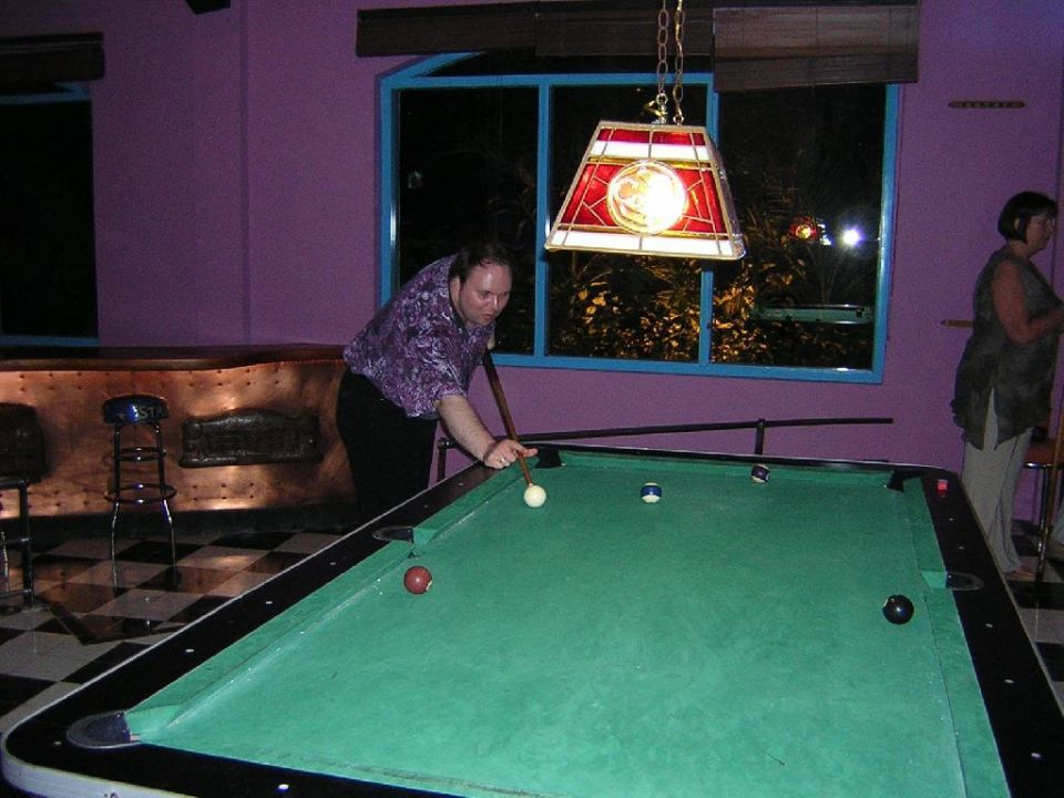 Poolbillard im Star Rock Cafee IBEROSTAR Dominicana