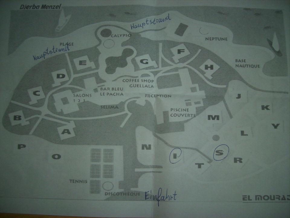 High Quality Plan Der Anlage Hotel El Mouradi Djerba Menzel