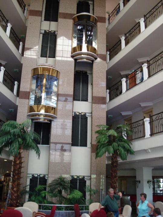 Dei wunderschönen Aufzüge Side Royal Paradise Hotel