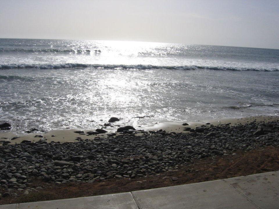 Kurz vorm Sonnenuntergang an der Promenade Lopesan Costa Meloneras Resort, Spa & Casino