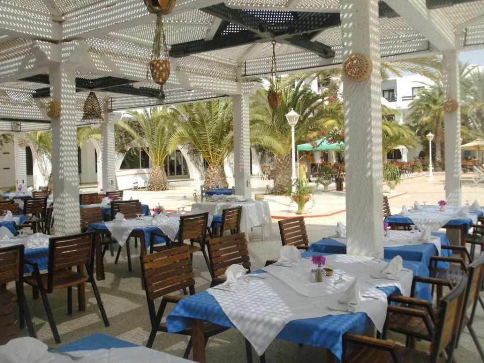 Essbereich außen Hotel Seabel Aladin Djerba