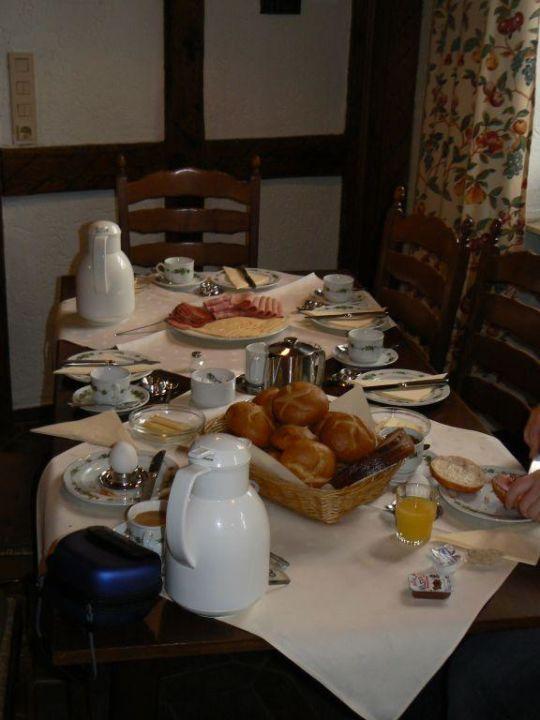 Frühstück Hotel Weingut Amlinger&Sohn