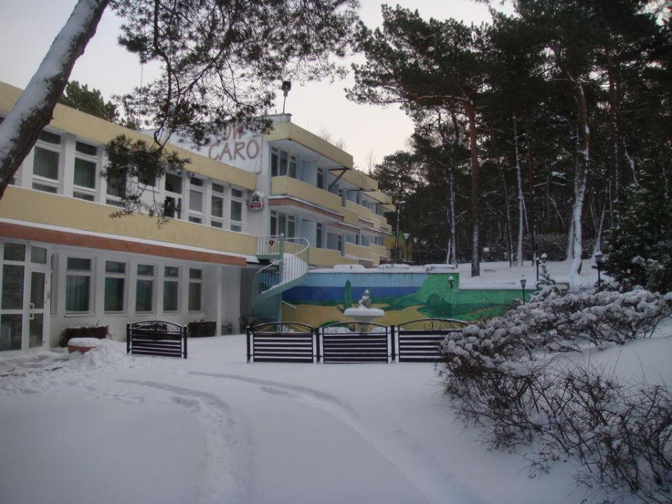 Zimą Dom Wypoczynkowy Caro