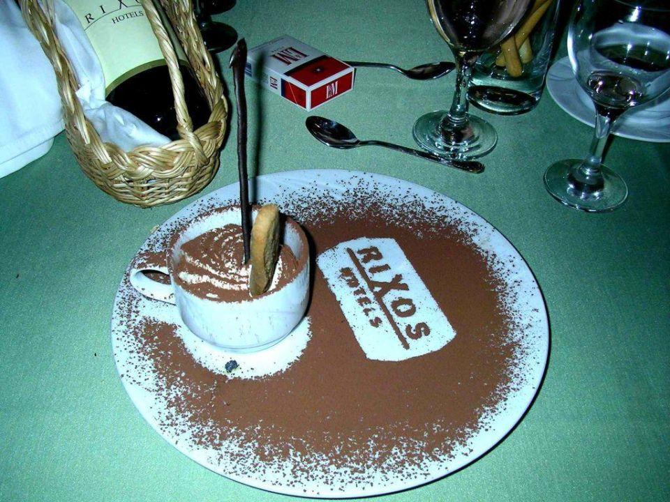 So muss ein Cappuccino aussehen Hotel Rixos Premium Tekirova