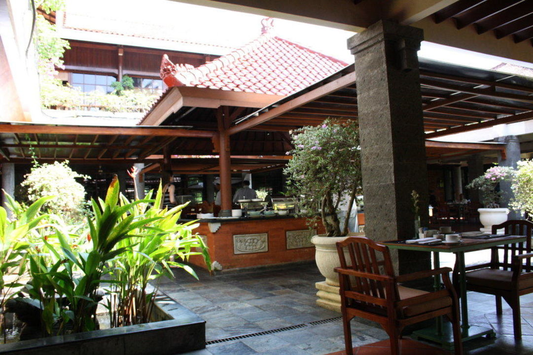 Frühstücksbereich Melia Bali