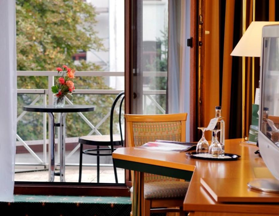 Komfort-Zimmer Balance Hotel Leipzig Alte Messe