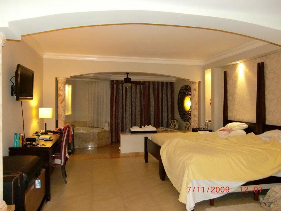 Zimmeransicht vom Eingang Majestic Elegance Punta Cana Resort