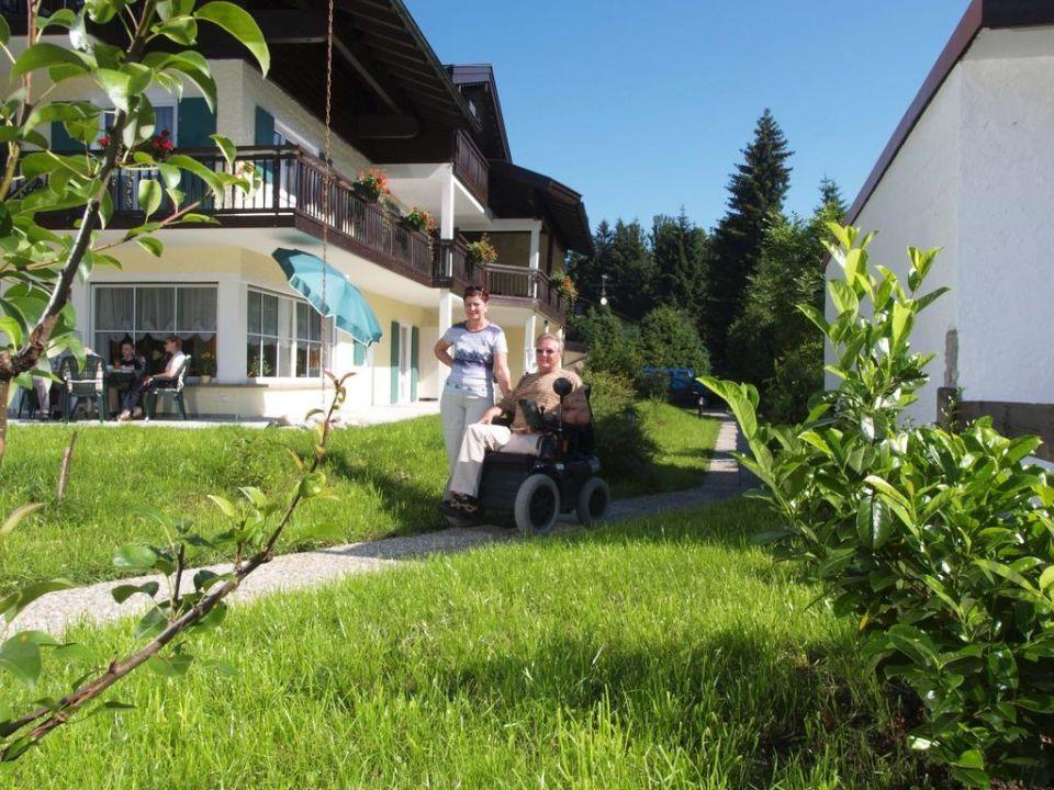 Zwei Wohnungen sind behindertenfreundlich Oberstdorfer Ferienwelt