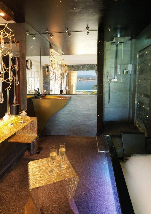 Salle de bain . Chambre Evasion Vue Mer\