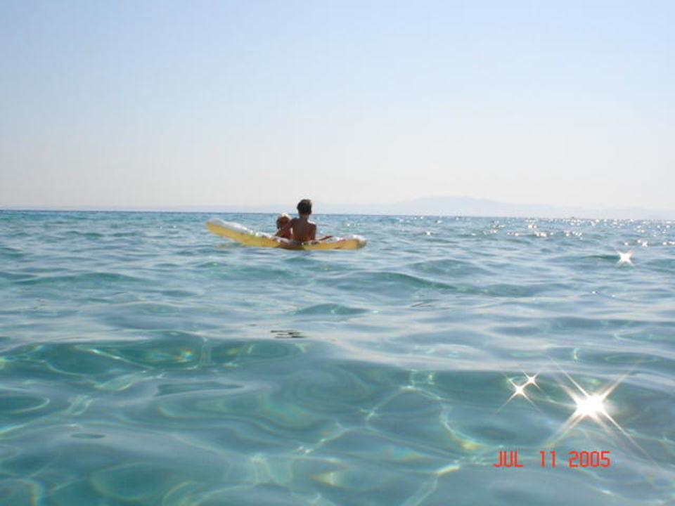 Strand von Kalithea Ammon Zeus Hotel