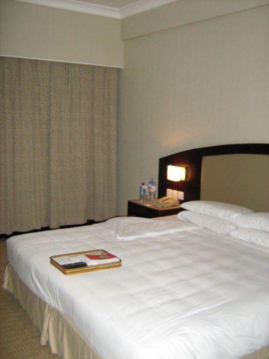 schlafzimmer bett shangri la hotel changchun in. Black Bedroom Furniture Sets. Home Design Ideas