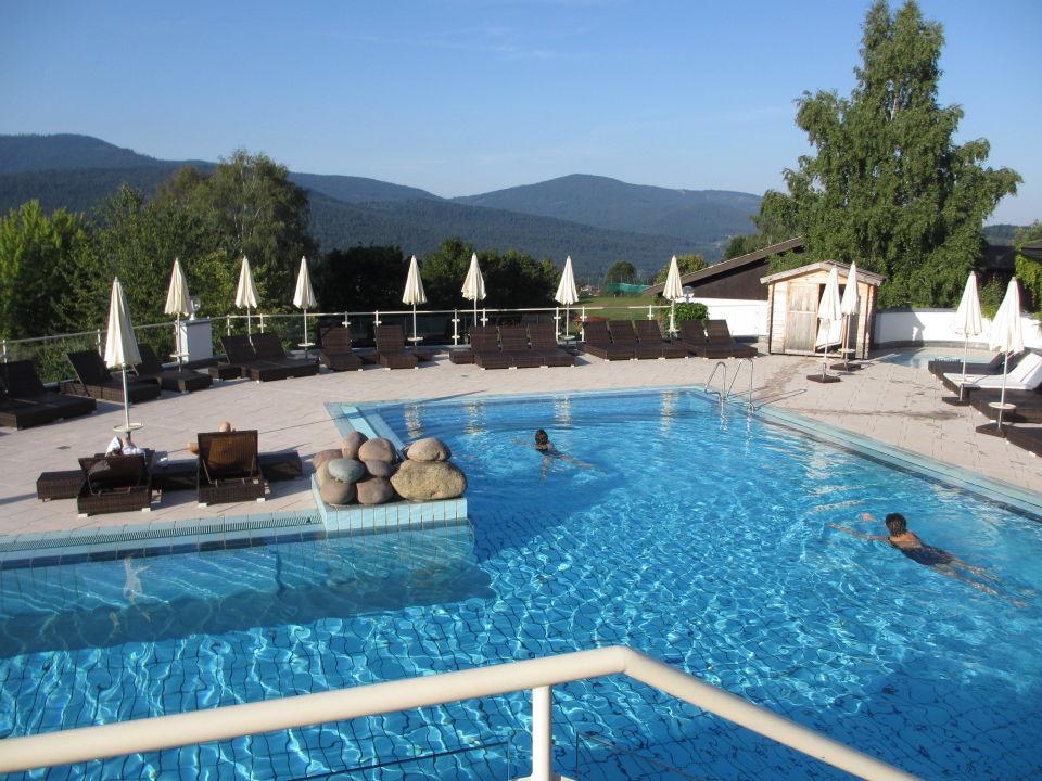 Früh Am Pool Hotel Sonnenhof Lam Holidaycheck Bayern