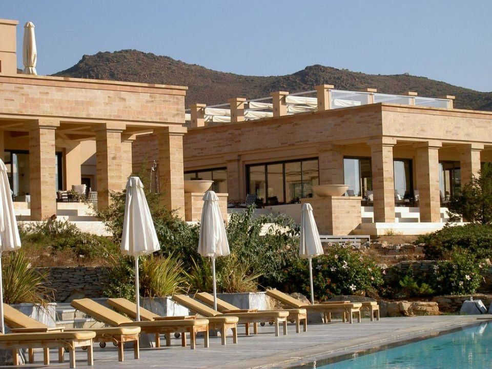 Hauptgebäude Grecotel Exclusive Resort Cape Sounio