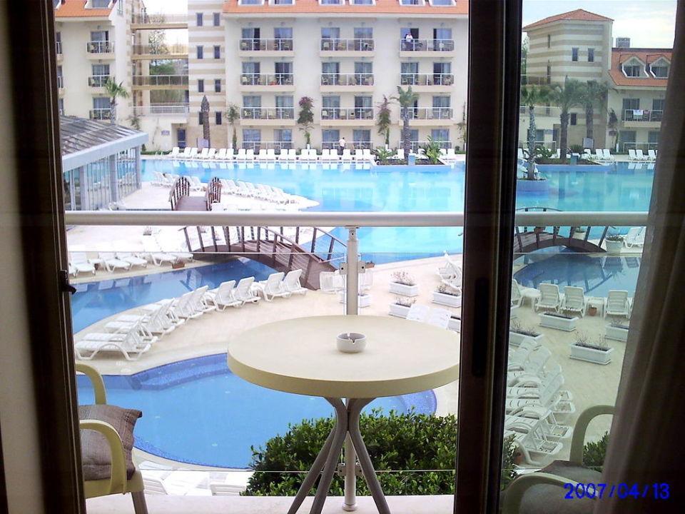 Blick vom Balkon Golden Imperial Resort Hotel