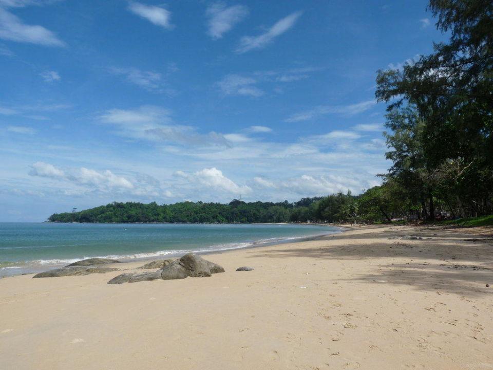 Strand rechts Khao Lak Merlin Resort