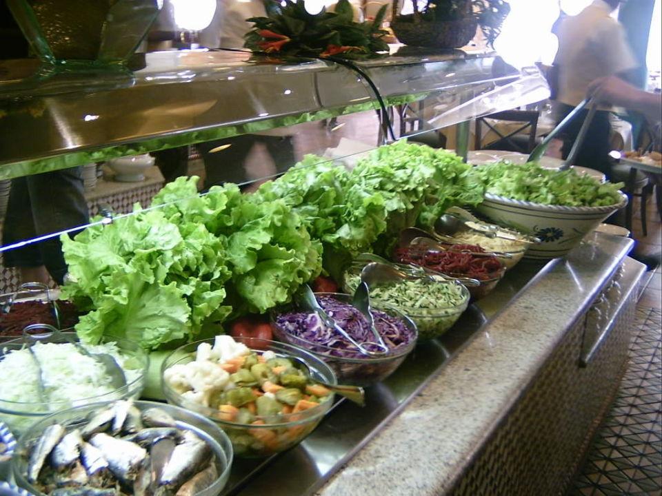 Die Salatbar allsun Hotel Los Hibiscos