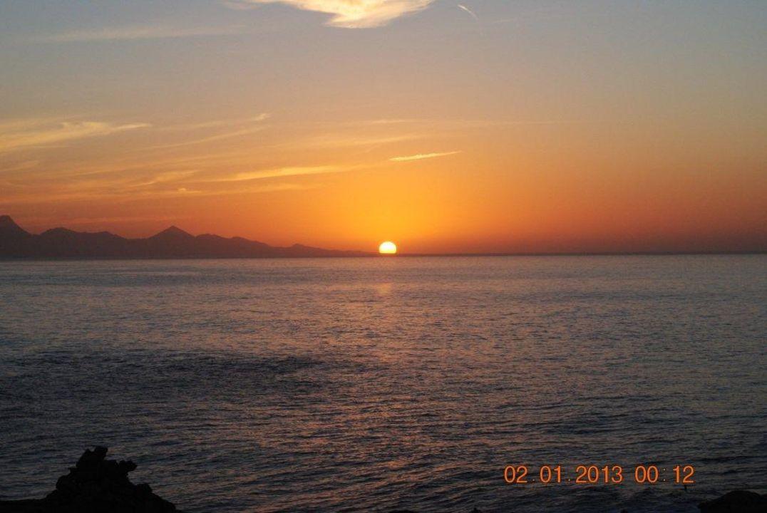 La Pared, Sonnenuntergang Bungalow Costa Real  (Vorgänger-Hotel – existiert nicht mehr)