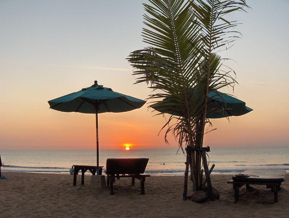 Blick zum Haupthaus Khaolak Orchid Beach Resort