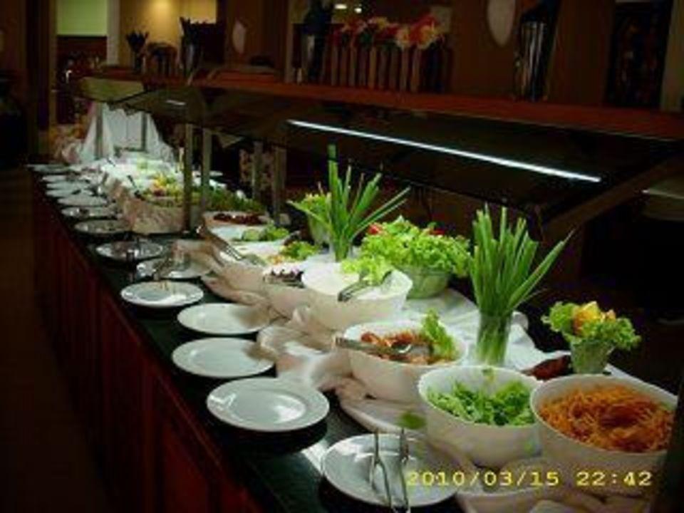 Das Salatbuffet Hotel Grifid Arabella