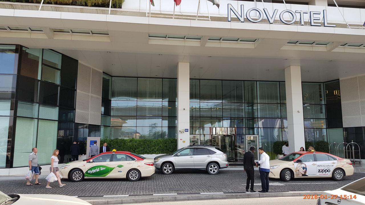 Außenansicht Novotel Al Barsha