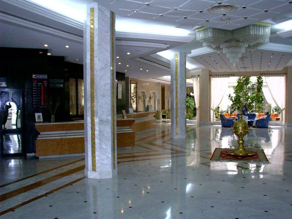 Eingangsbereich Hotel Sunnydays L'Albatros/Albatros