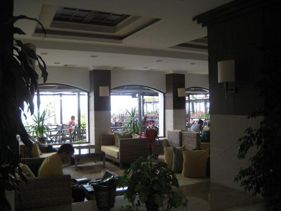 Sitzmöglichkeit an der Lobby Hotel Armas Labada