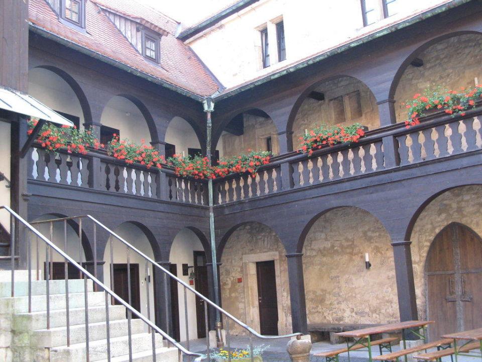 Renaissancehof VCH-Hotel Augustinerkloster zu Erfurt