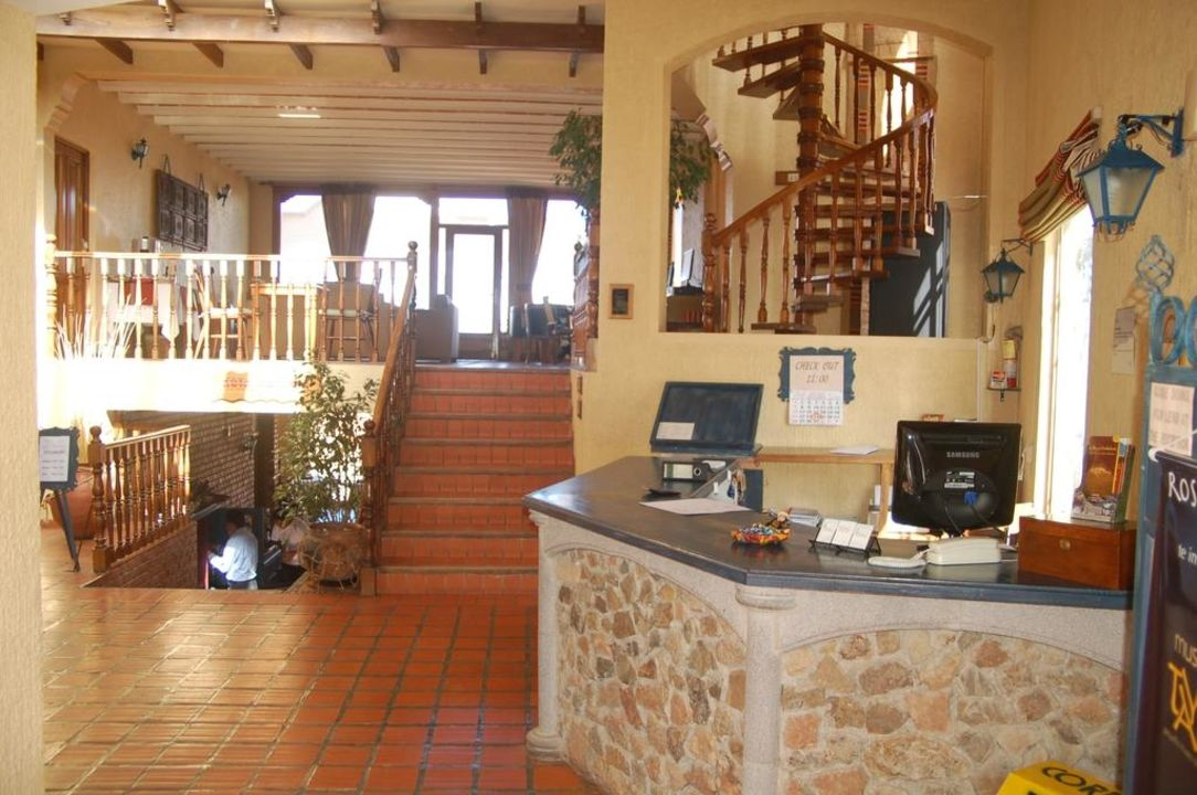 Rezeption Hotel Rosario del Lago